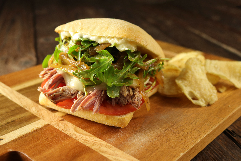 "Texas ""Porchetta"" Sandwich"