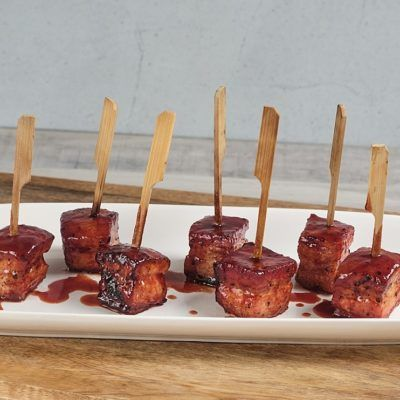 Pork Belly Lollipops